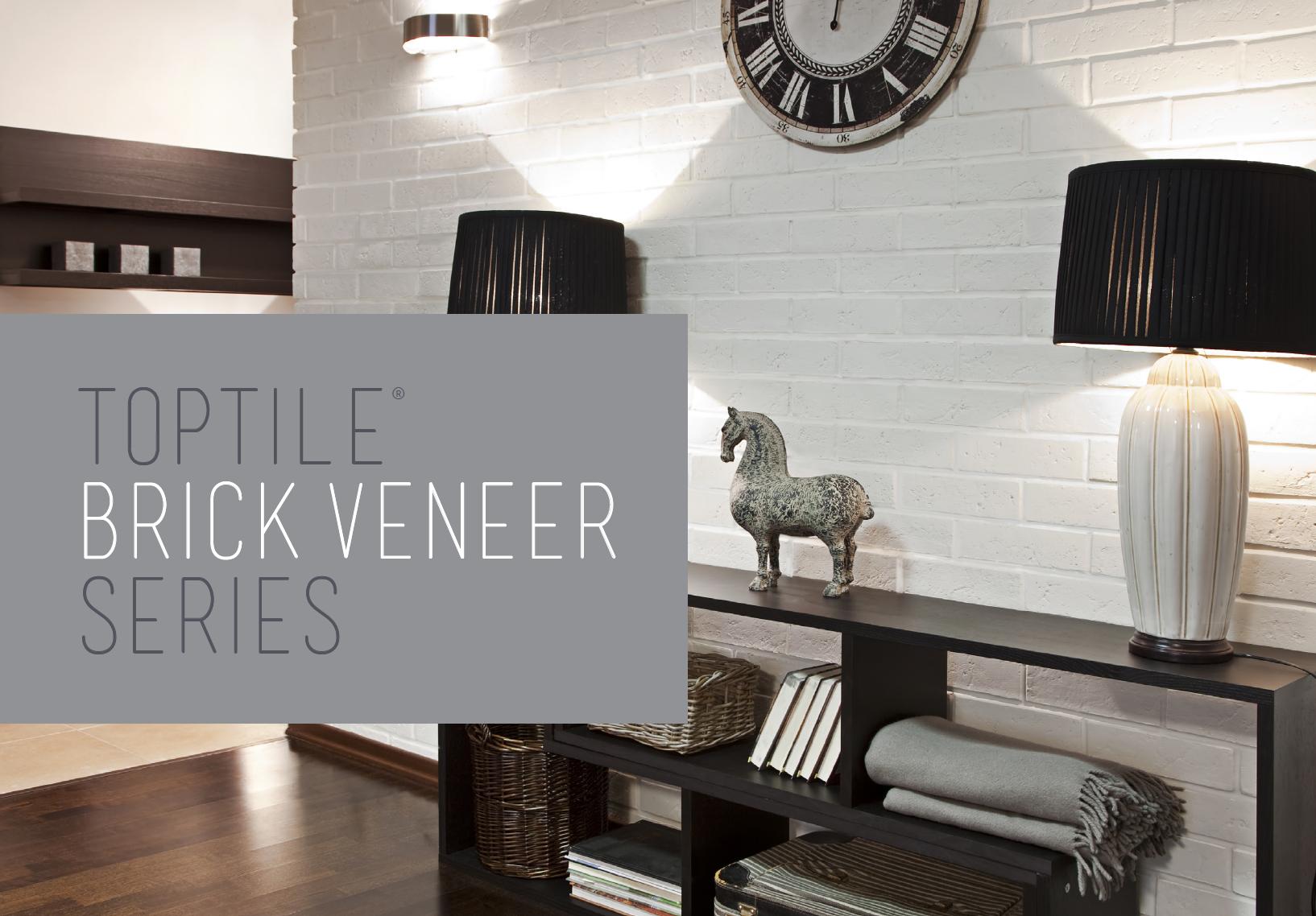 Brick Veneer Series Toptile Ceilings