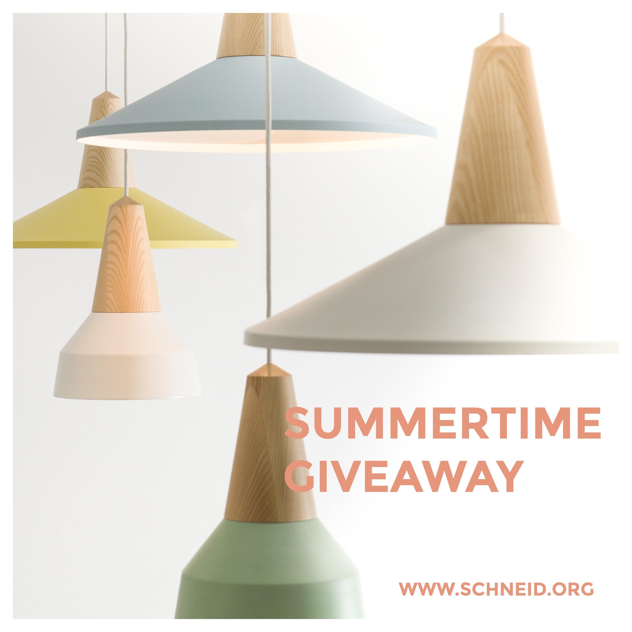 Giveaway - Win the Eikon lamp