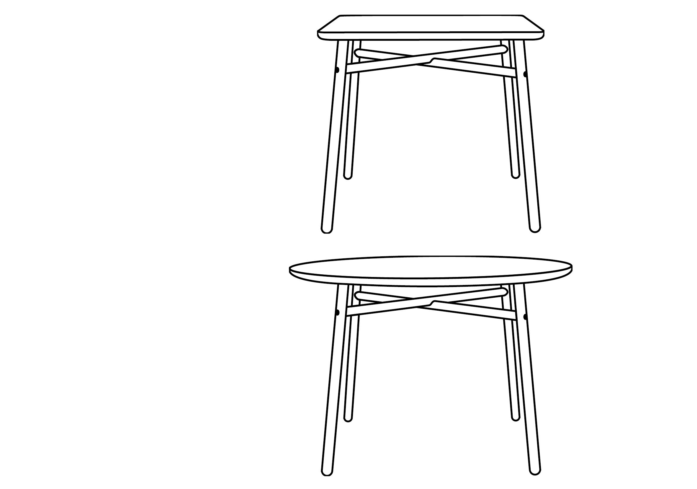 Schneid Lighting & Furniture | Fafa Table
