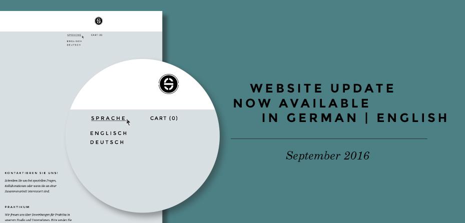 Schneid Website in German and English