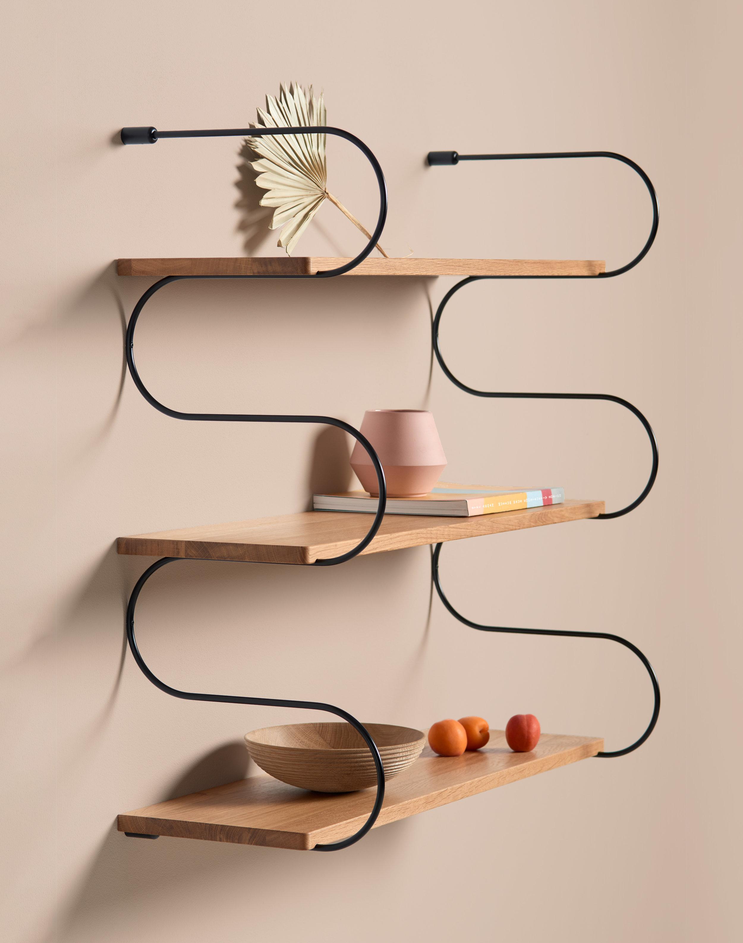 Onda shelf by Schneid Studio