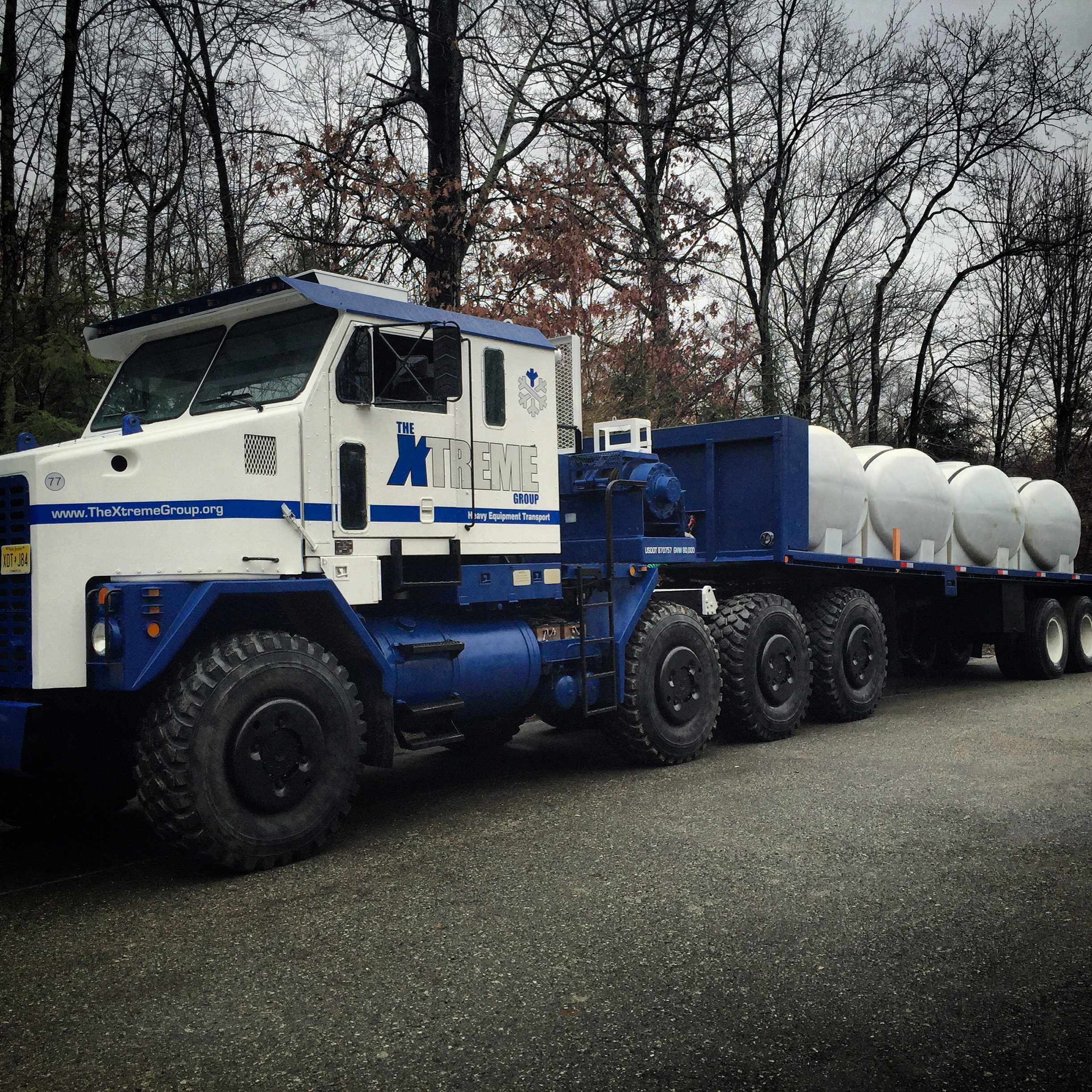 Delivery Service With Up To 5500 Gallons Per Load