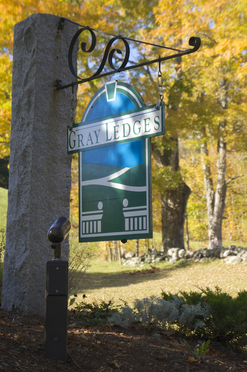 Gray Ledges in Grantham, NHis picturesque Fall in New England