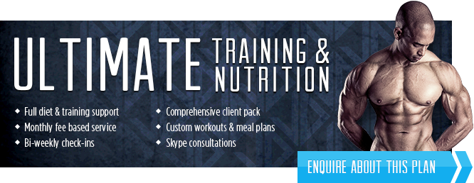 Inquire about  Ultimate Training & Nutrition