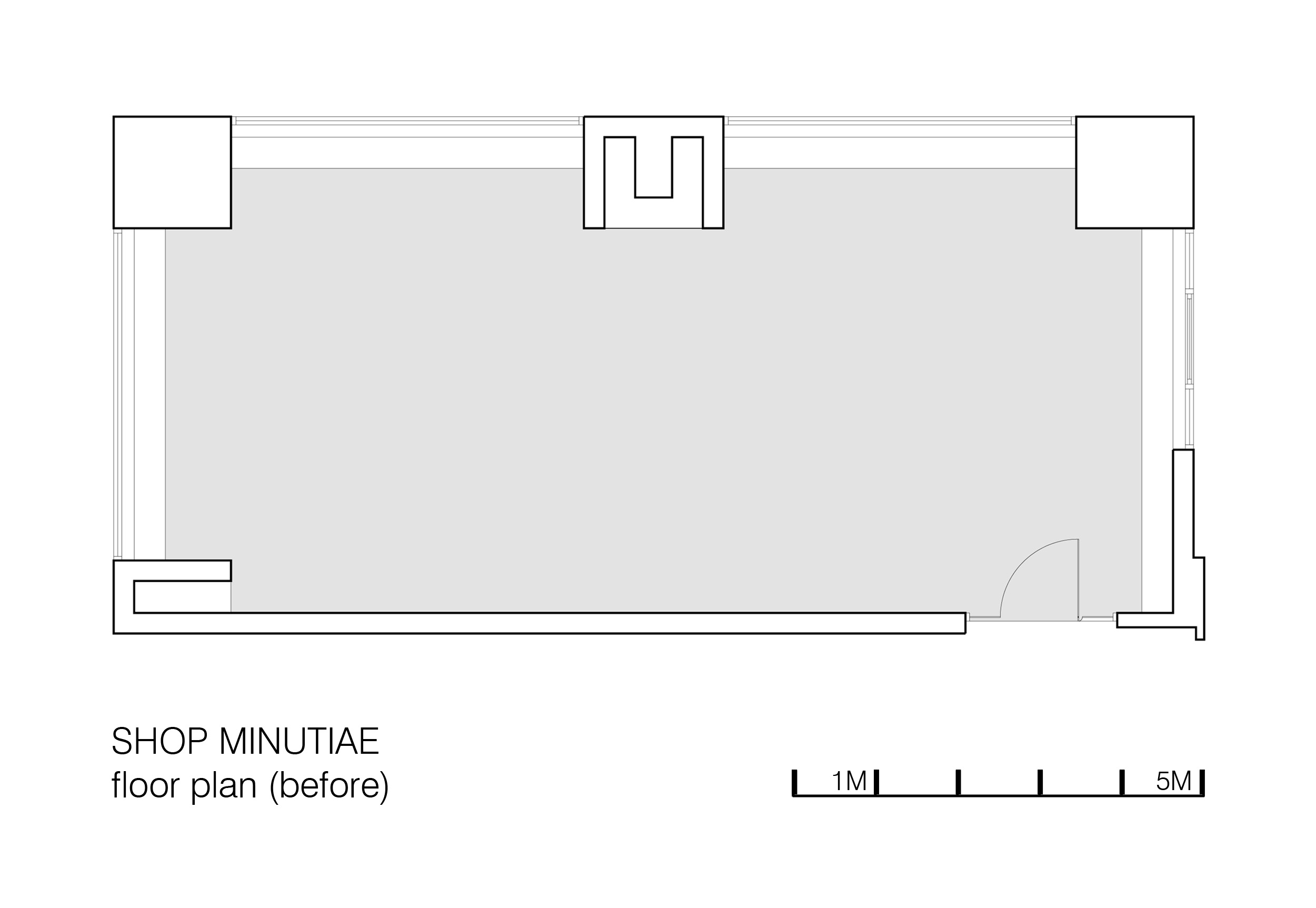 Shop Minutiae Floorplan (before)
