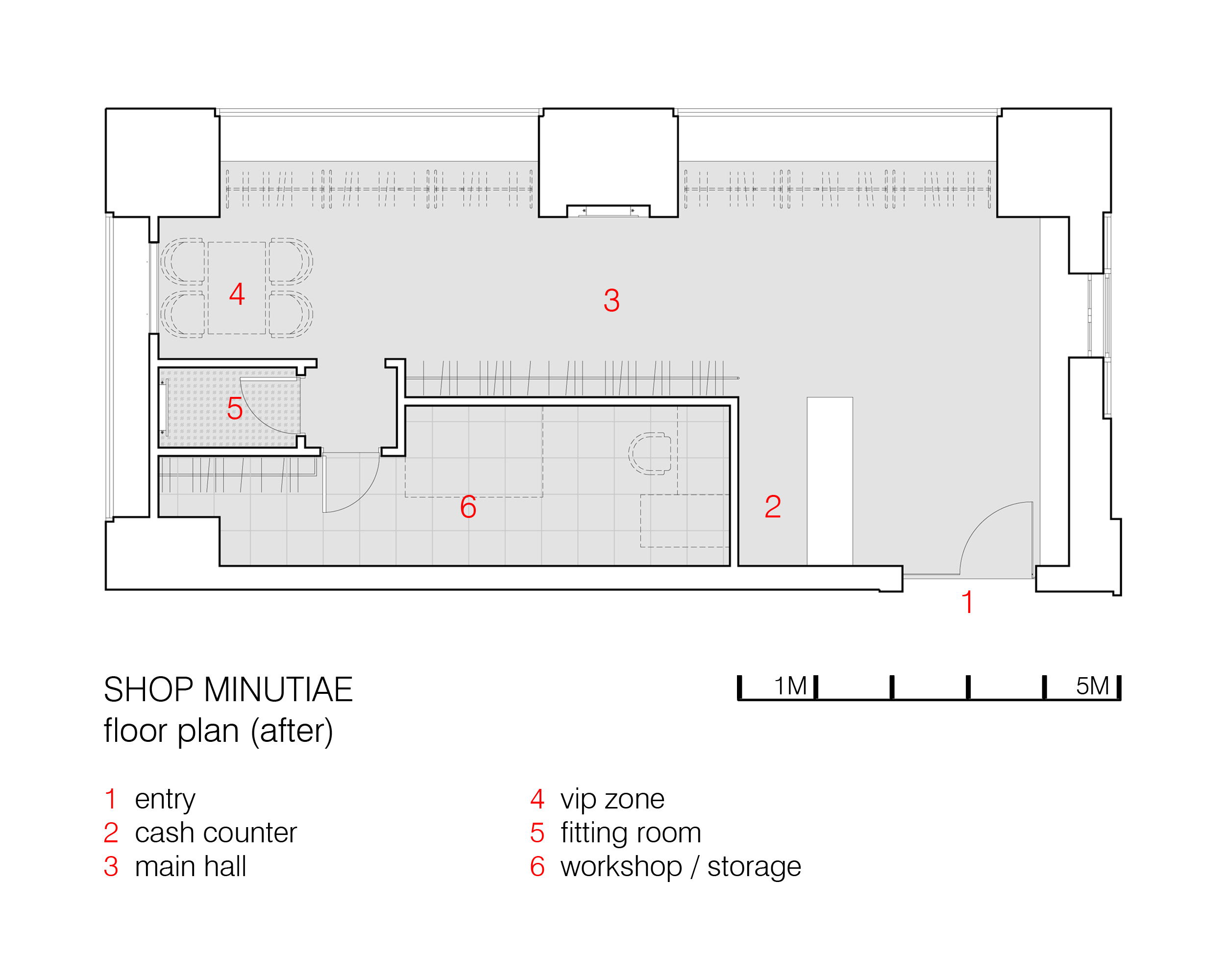 Shop Minutiae Floorplan (after)