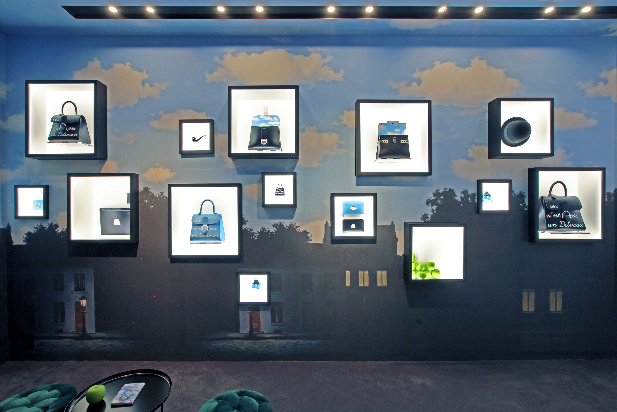 delvaux magritte pop-up store in seoul