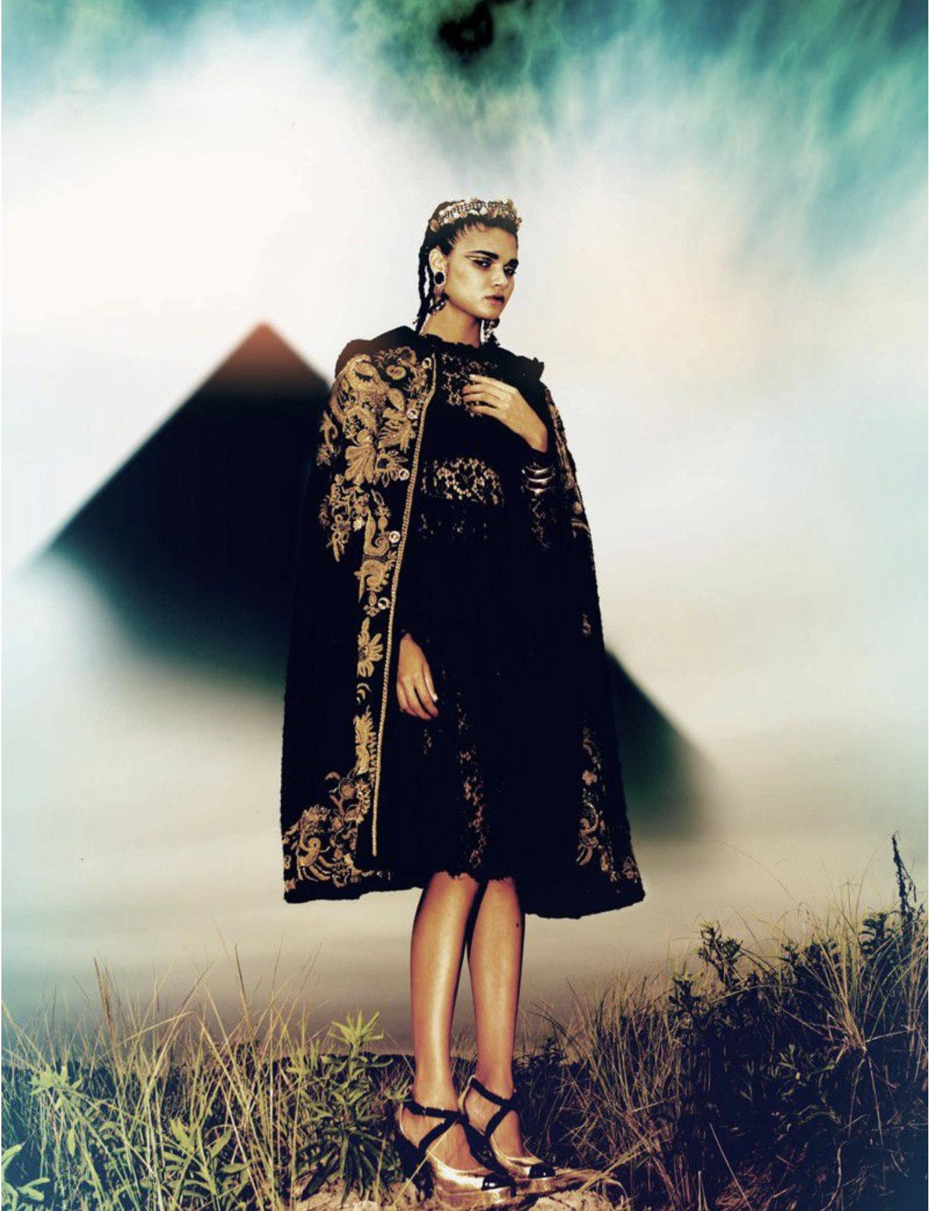 Daniela Braga by Michael Donovan for Vision China