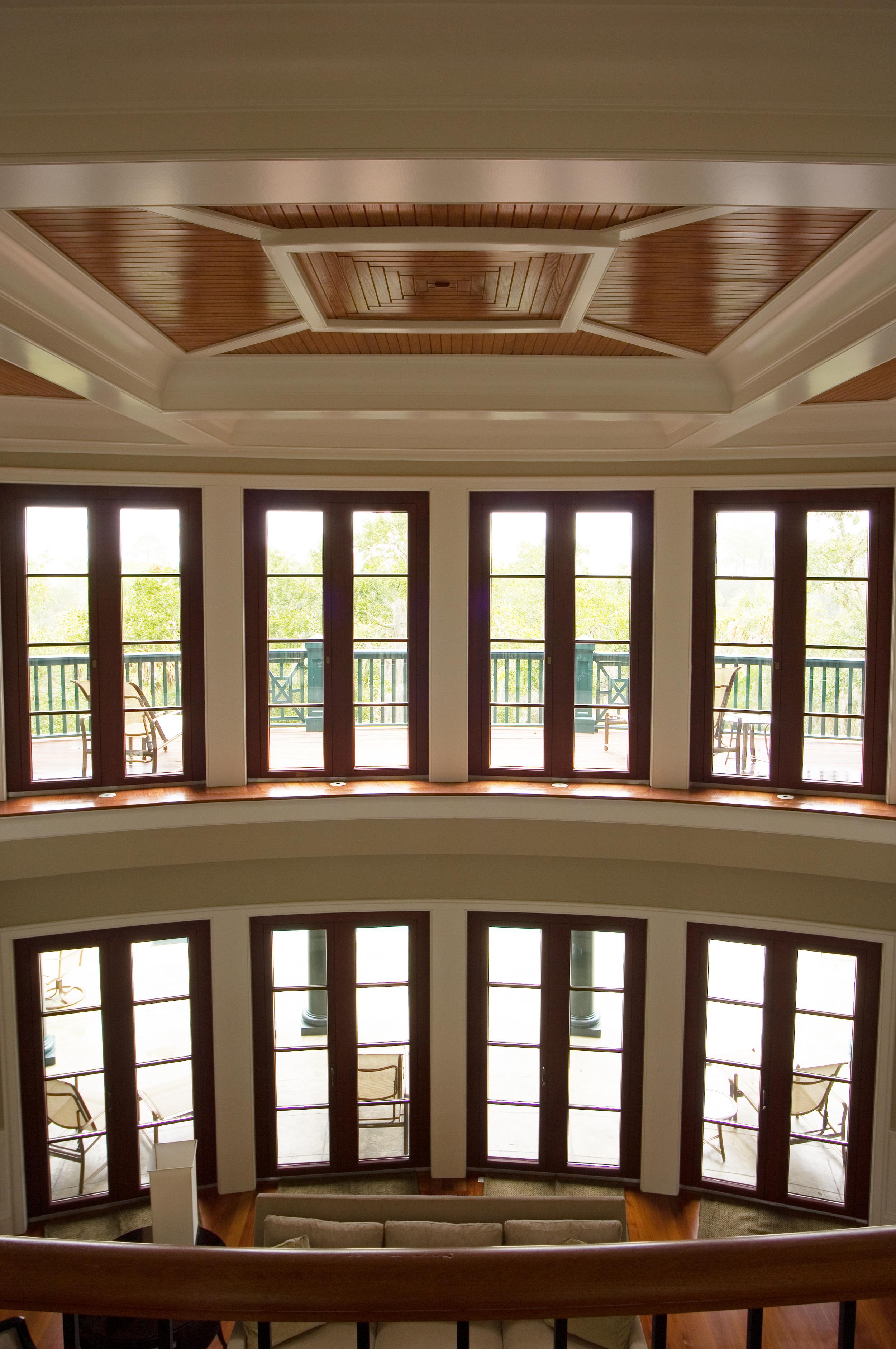 Aluminum Clad Meranti Wood Windows