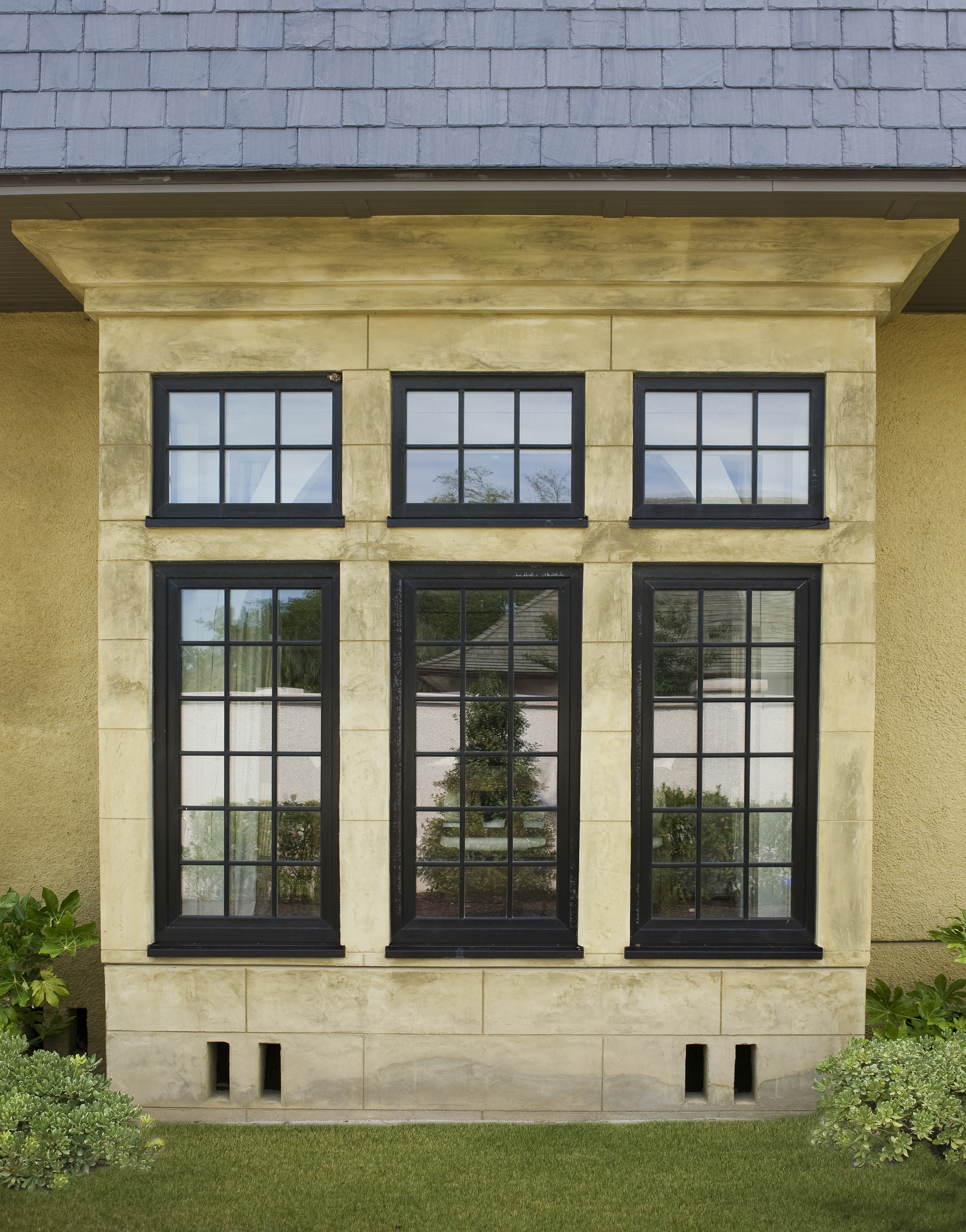 Wood Grain Laminated Tilt and Turn Vinyl Window
