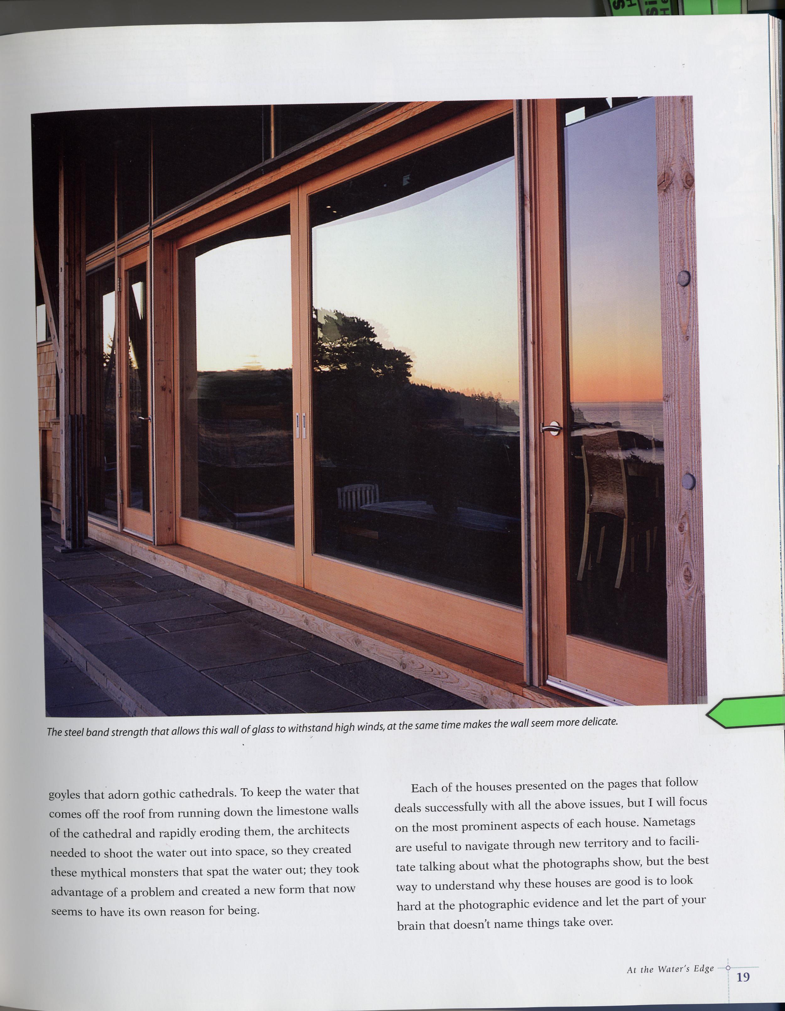 Custom Lift and Slide Door with Impact Glass
