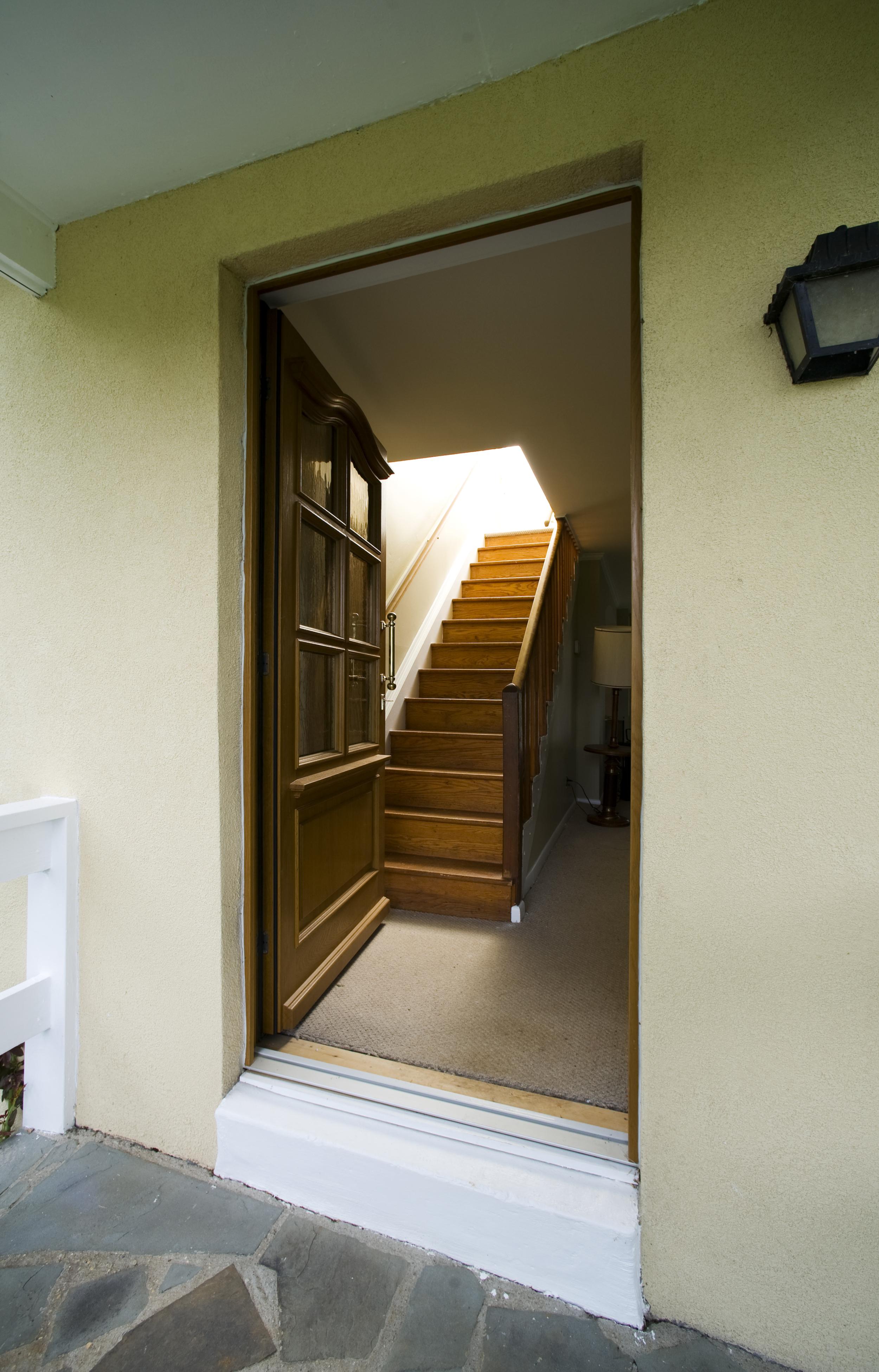 Custom Oak Entrance Door