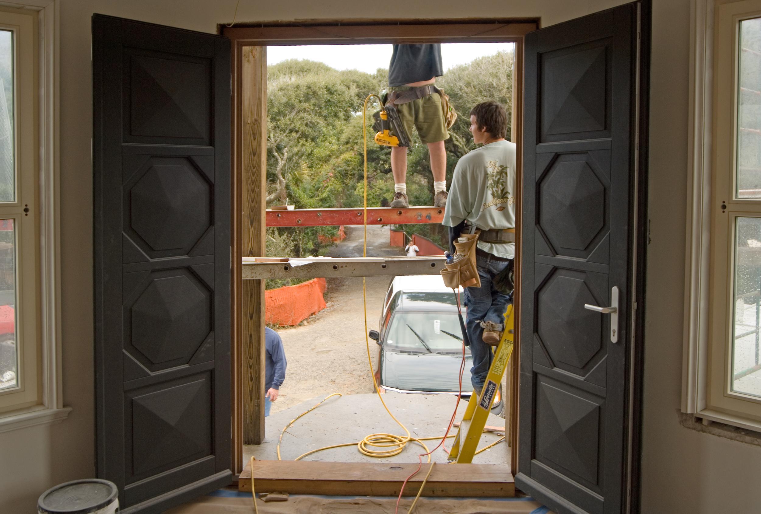 Custom Made Mahogany Door, French Design