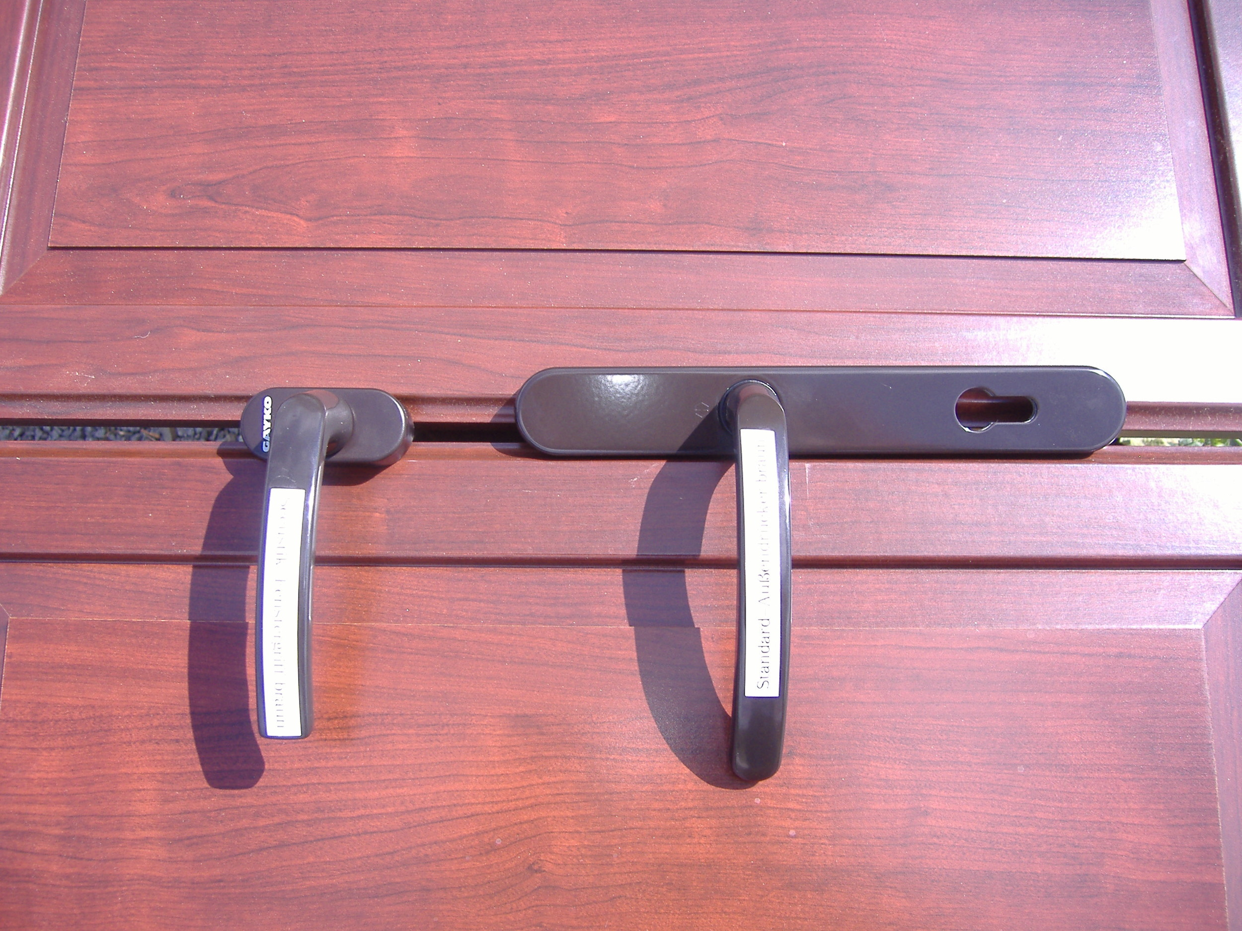 Henselstone Aluminum Lock Set