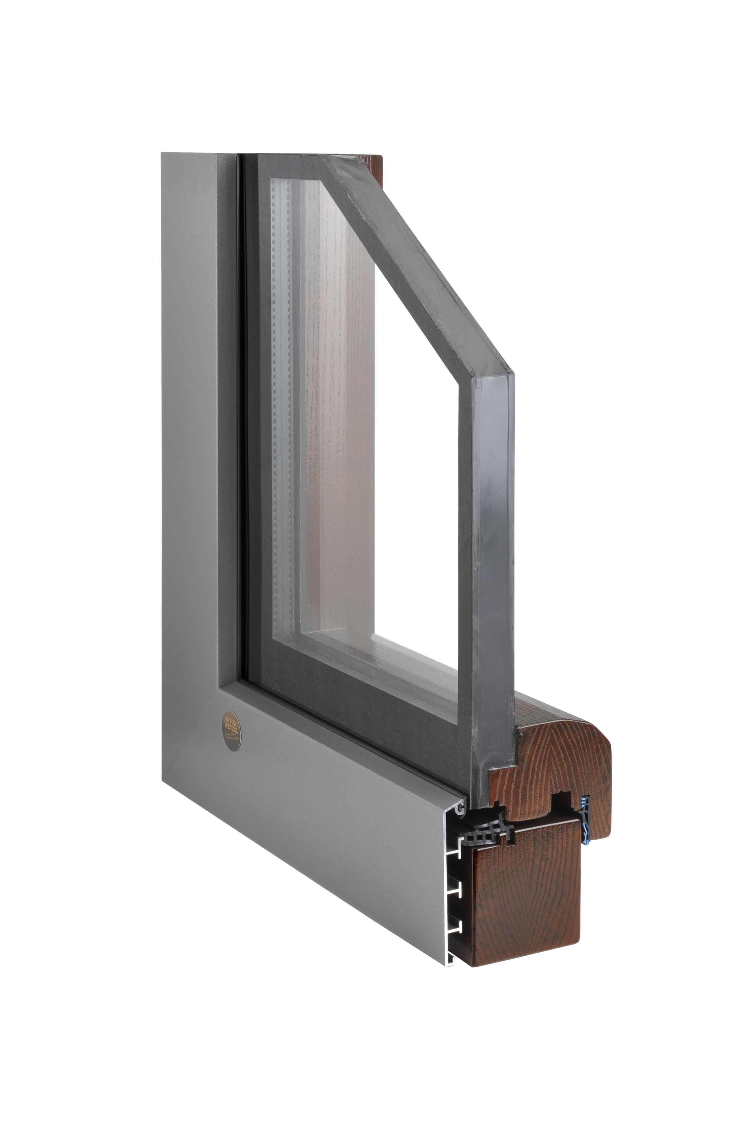 Aluminum Clad Mahogany Window