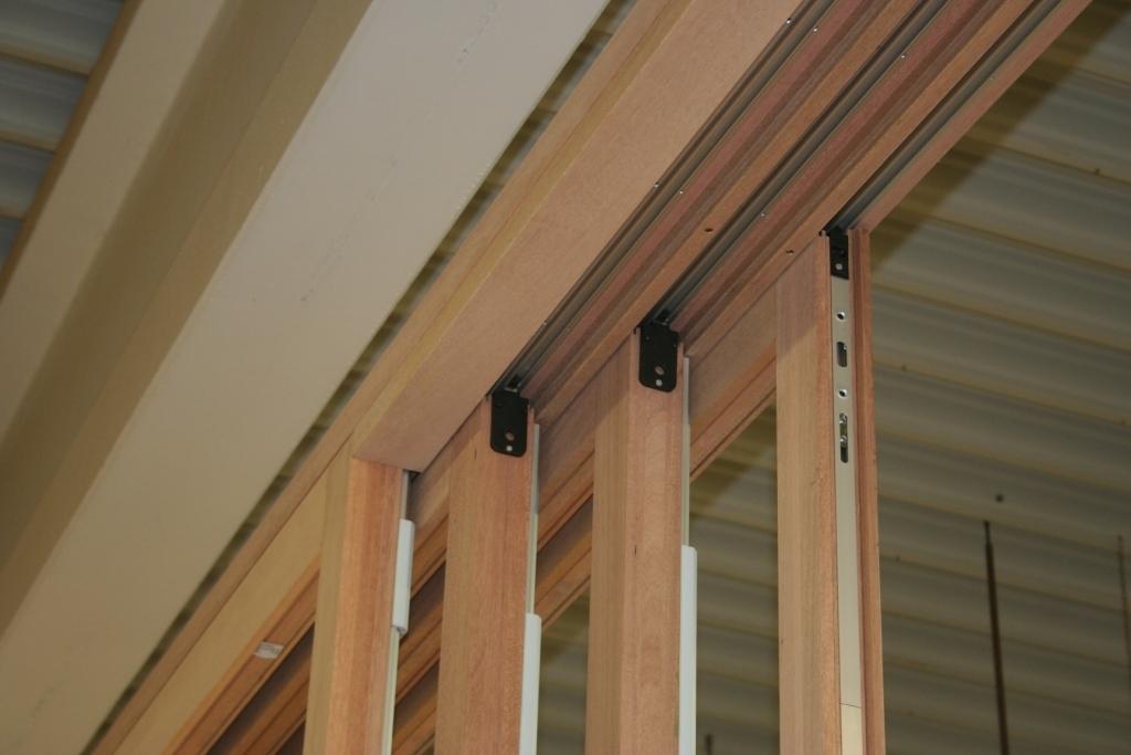 Four Panel Lift Slide Door at Factory.JPG