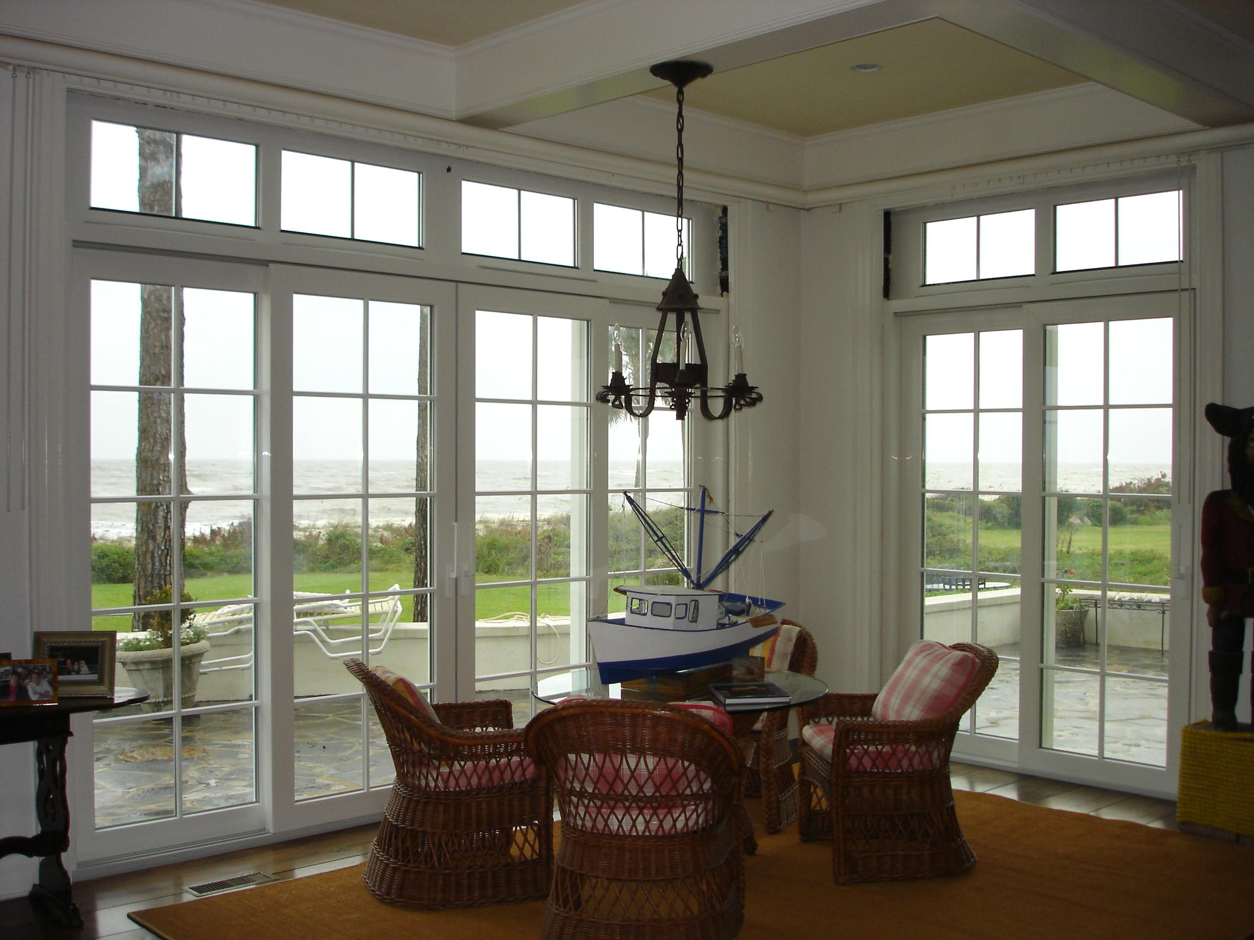 Hurricane Rated Lift and Slide Doors