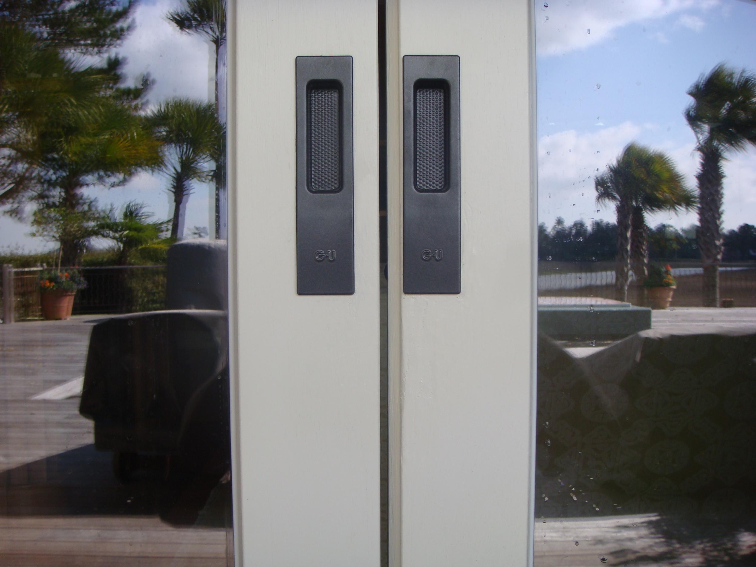 Lift and Slide Door Exterior Grip Cups
