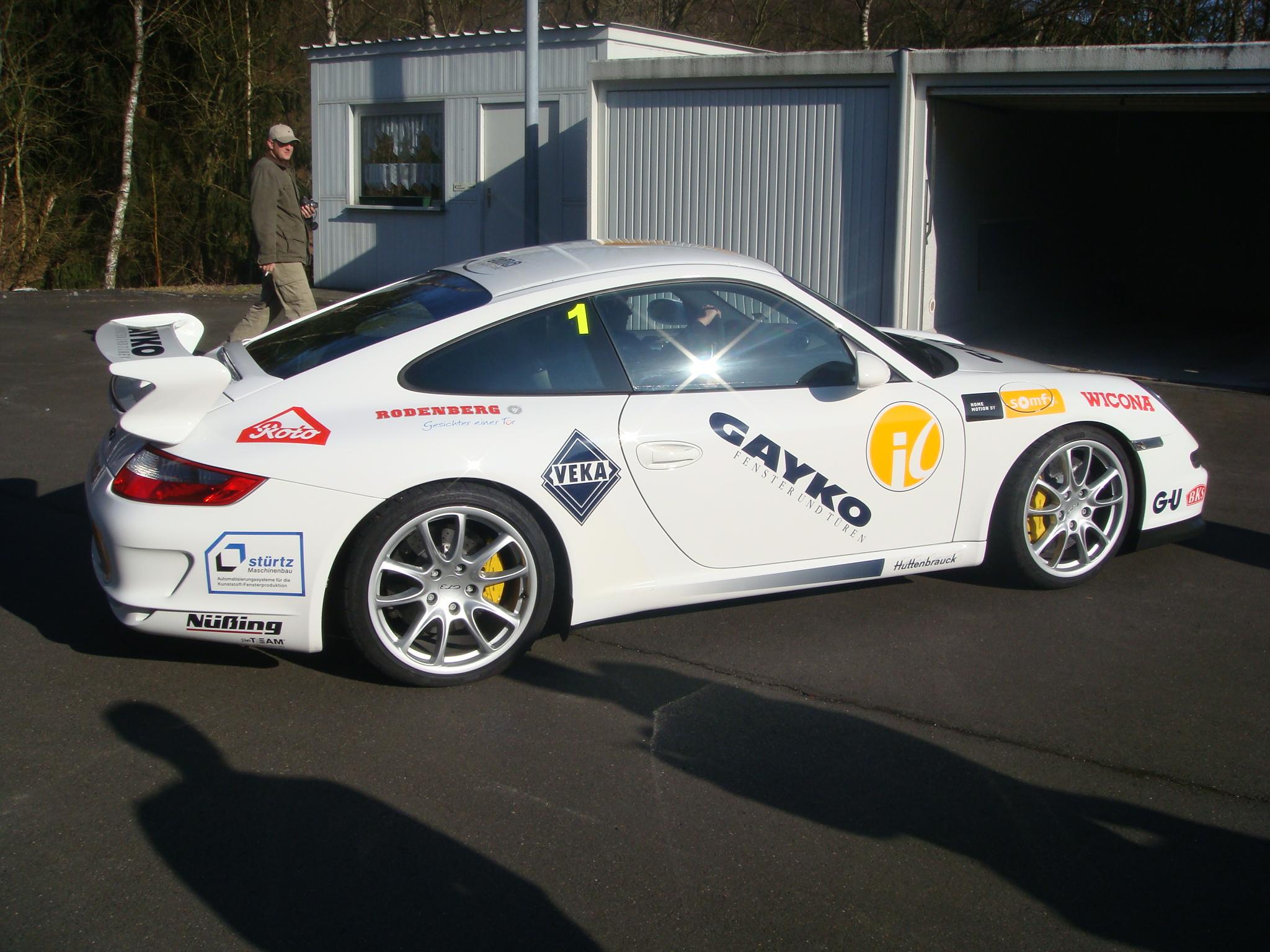 Test Drive in a Porsche GT