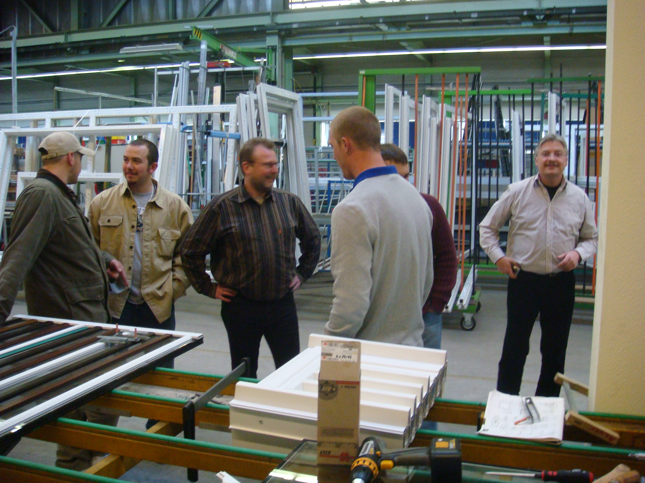 Henselstone Installers in the Gayko Factory