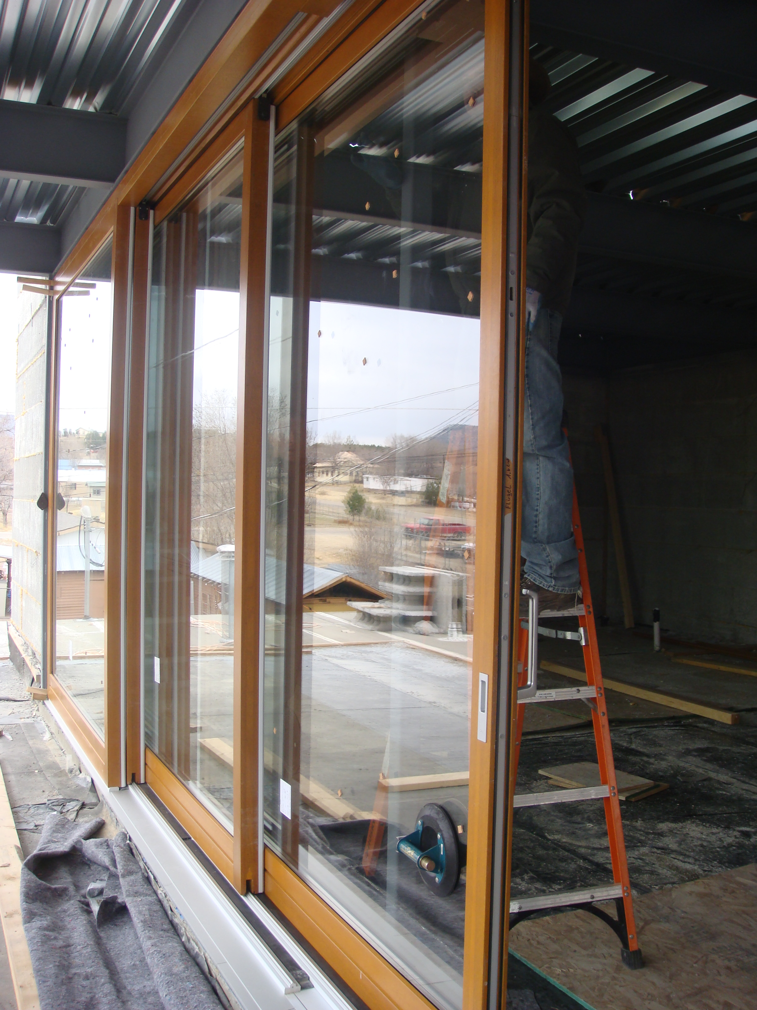 Lift and Slide Door, four into one design