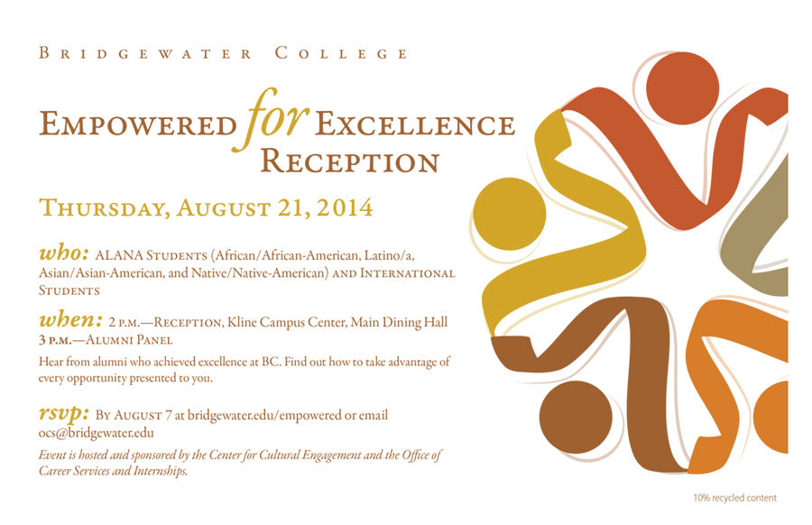 ALANA Invitation  July 2014 | Invitation to event hosted by Bridgewater College's Center for Cultural Engagement
