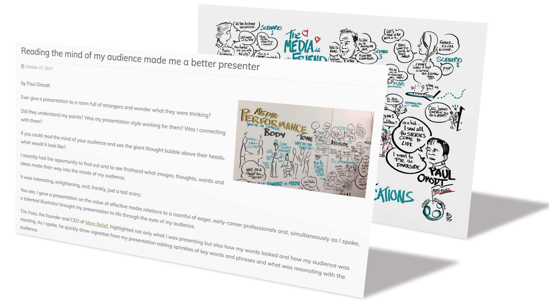 Graphic Recording Case Studies — More Belief