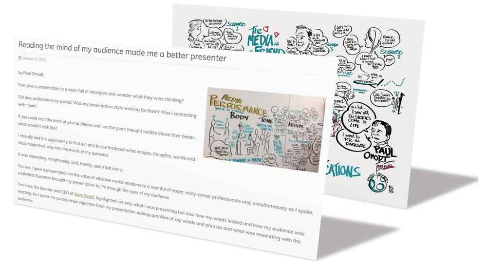 Graphic Recording for your Presentation - Client: Association of Professional City Managers