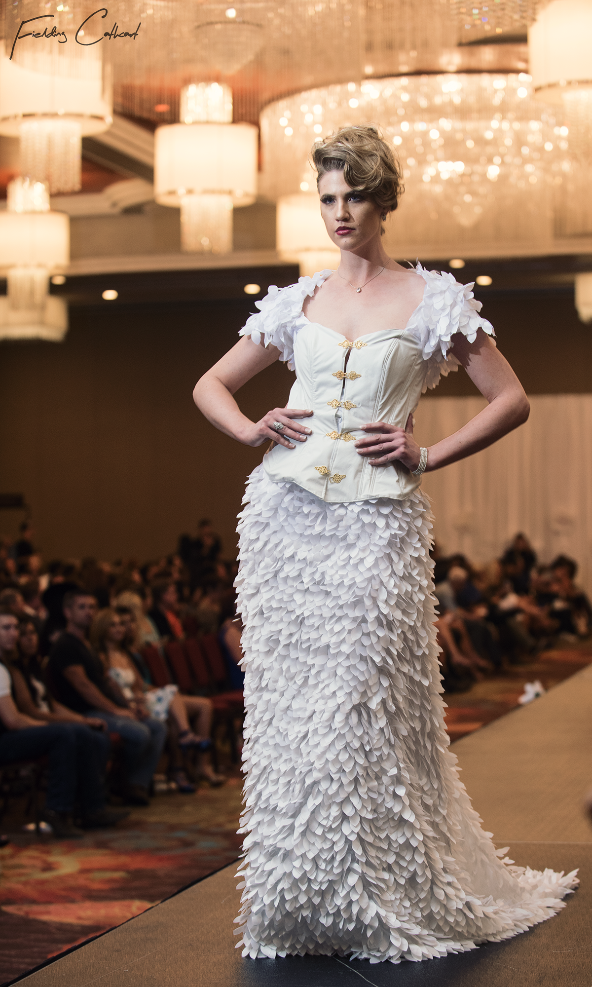 Leah Radcliffe  wearing a design from   Edward Coleman  at the Reno Fashion Show make up by Grace Avila and assistant, Hair by   Kai Stanton  A big thank you to   Tru Talent Agency  i know a few of your wonderful models where there