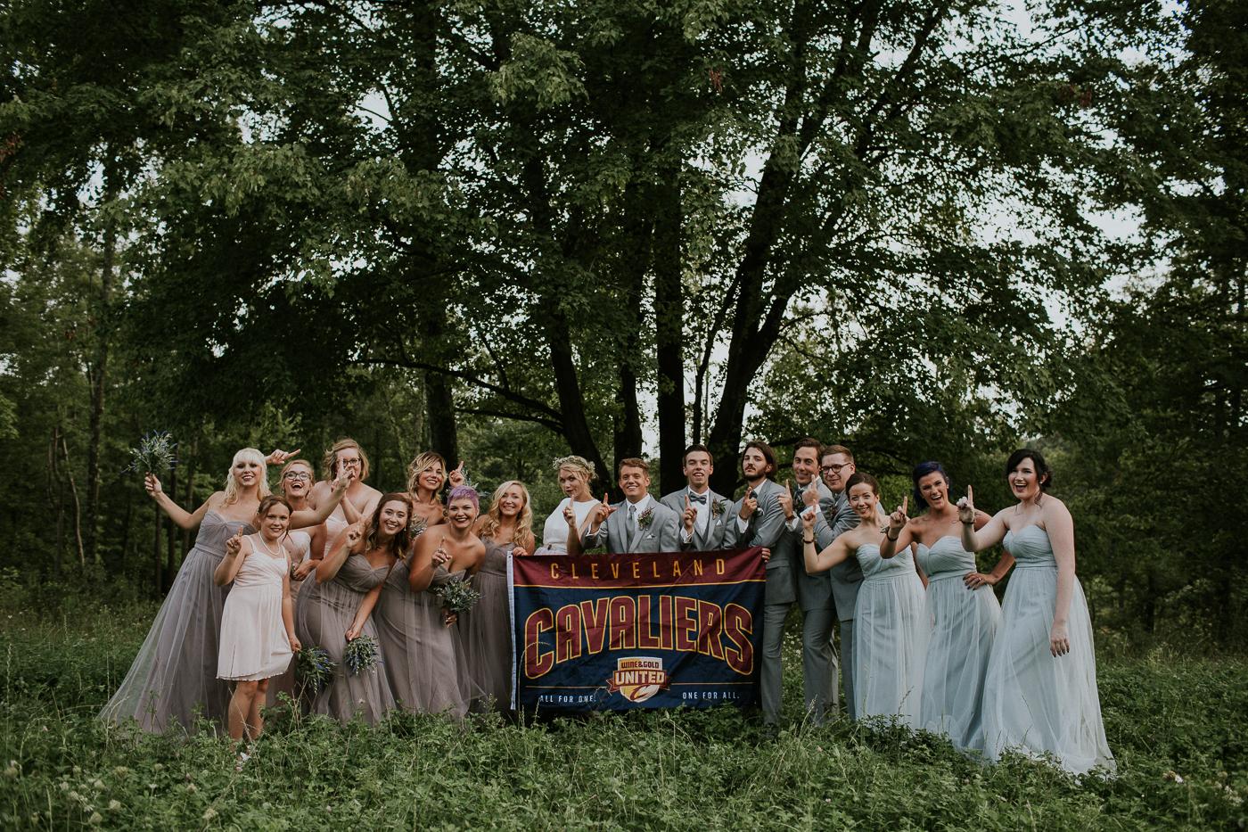 ohio wedding photographer Grace E. Jones Photography cleveland cavaliers