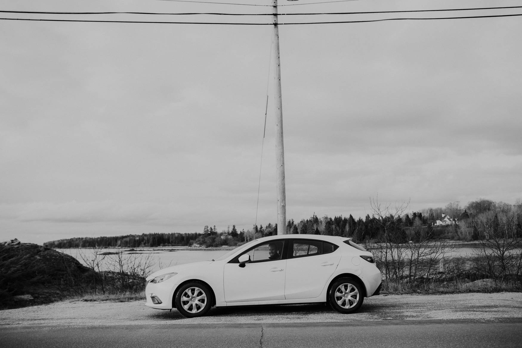 Our faithful Mazda!
