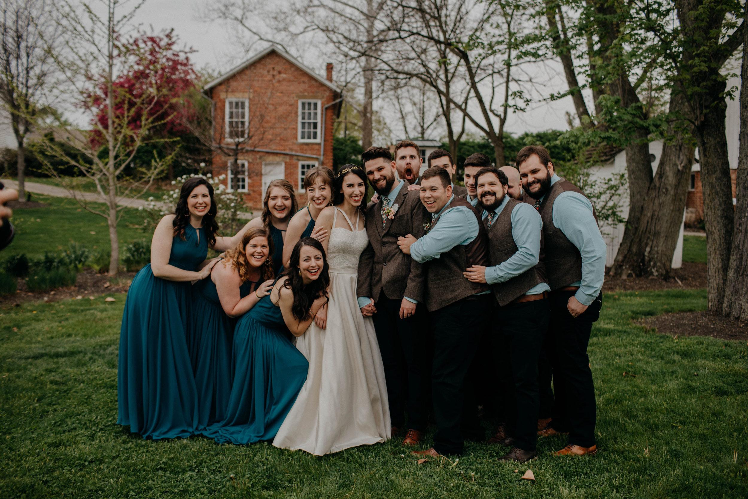 Columbus, Ohio Wedding Photographer Everal Barn At Heritage Park Wedding Venue Grace E Jones Photography78.jpg