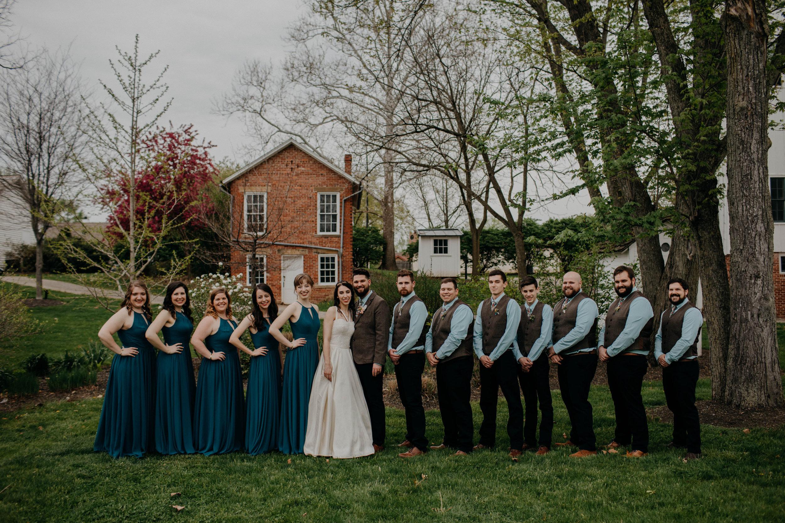Columbus, Ohio Wedding Photographer Everal Barn At Heritage Park Wedding Venue Grace E Jones Photography75.jpg