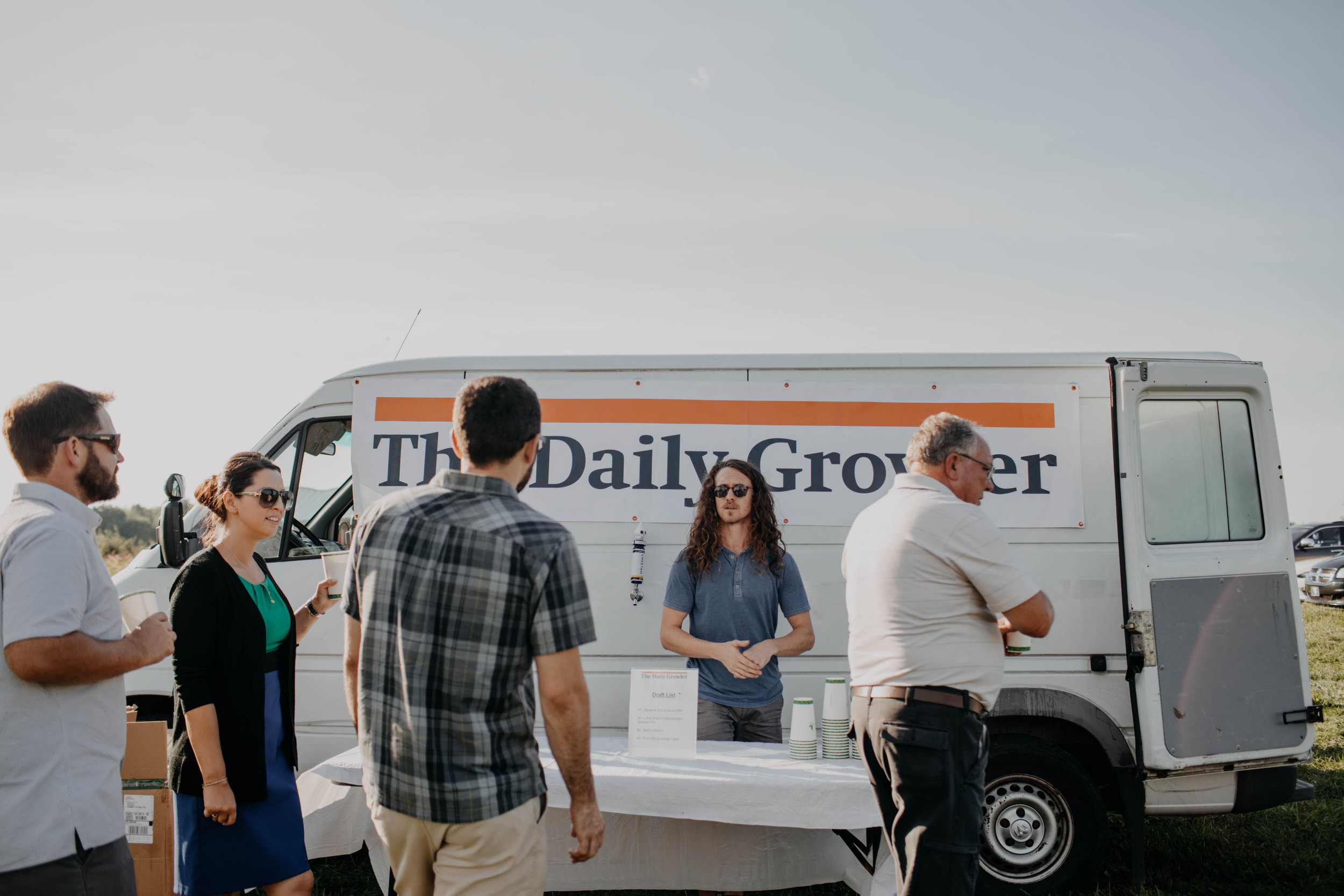 daily growler columbus ohio wedding beer truck