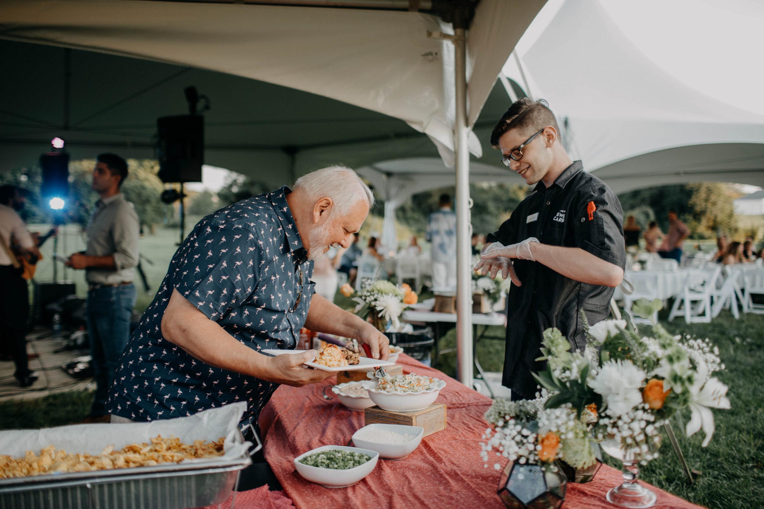 sweet carrot catering wedding columbus ohio