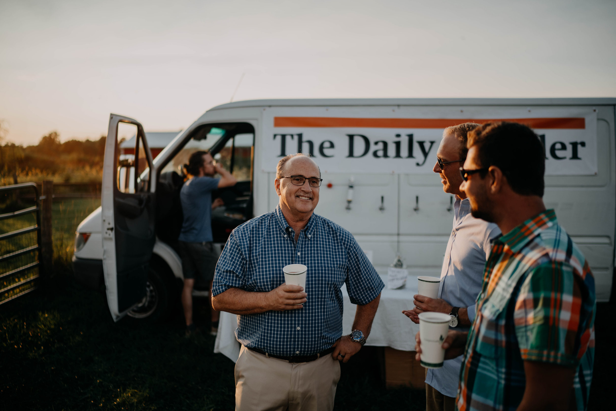 The daily growler beer truck wedding columbus ohio wedding
