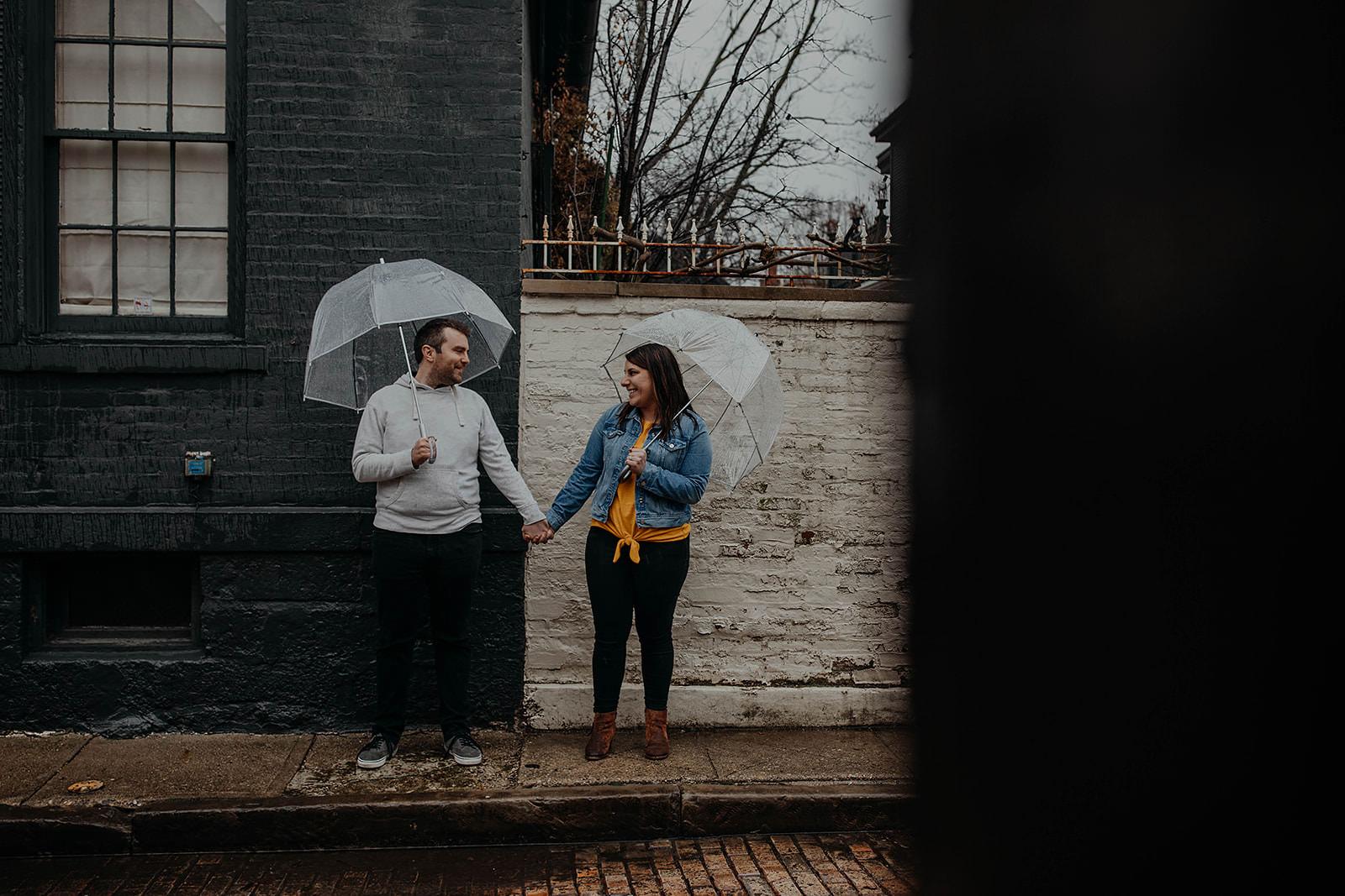 Rainy day engagement photos german village columbus ohio wedding photographer grace e jones photography15.jpg