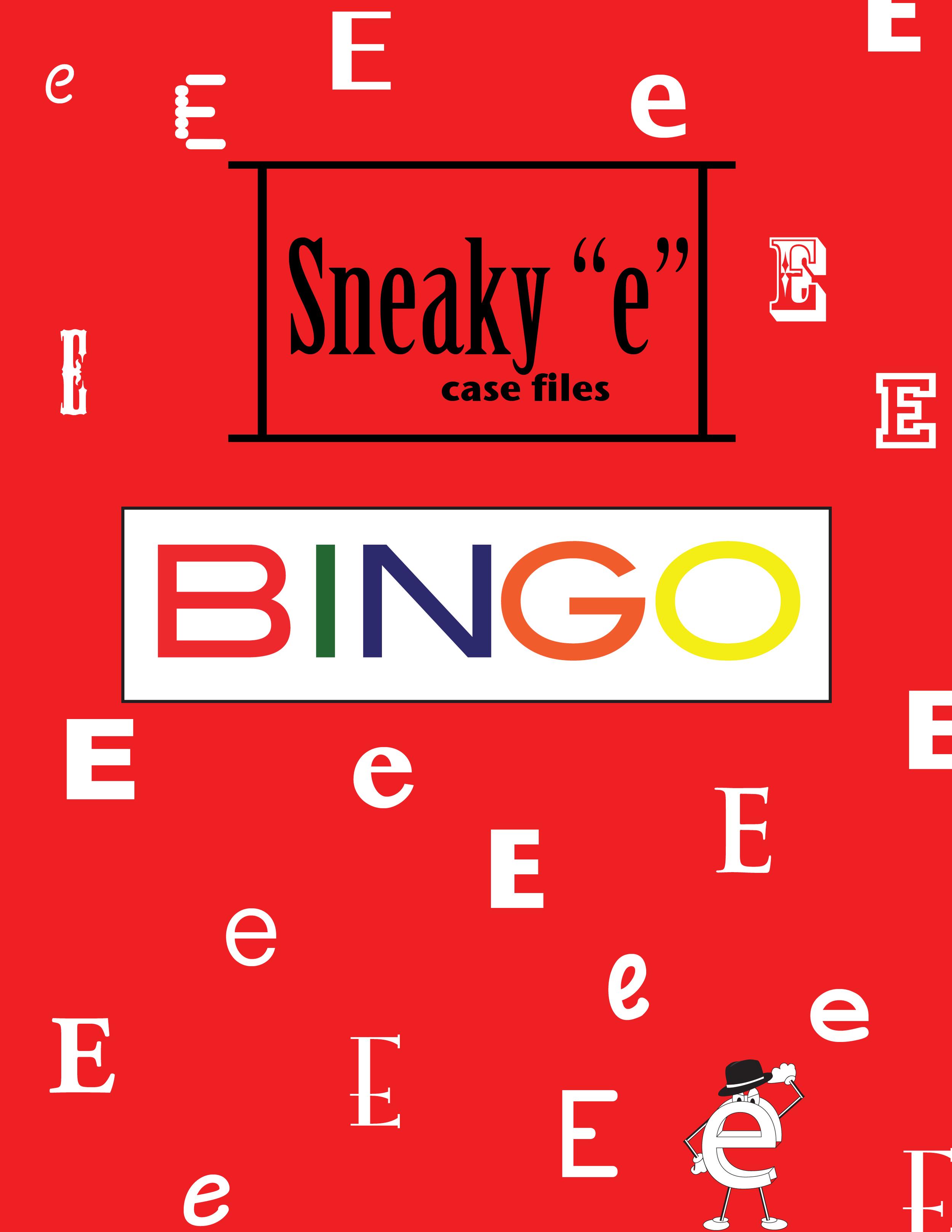 "Sneaky ""e"" BINGO"