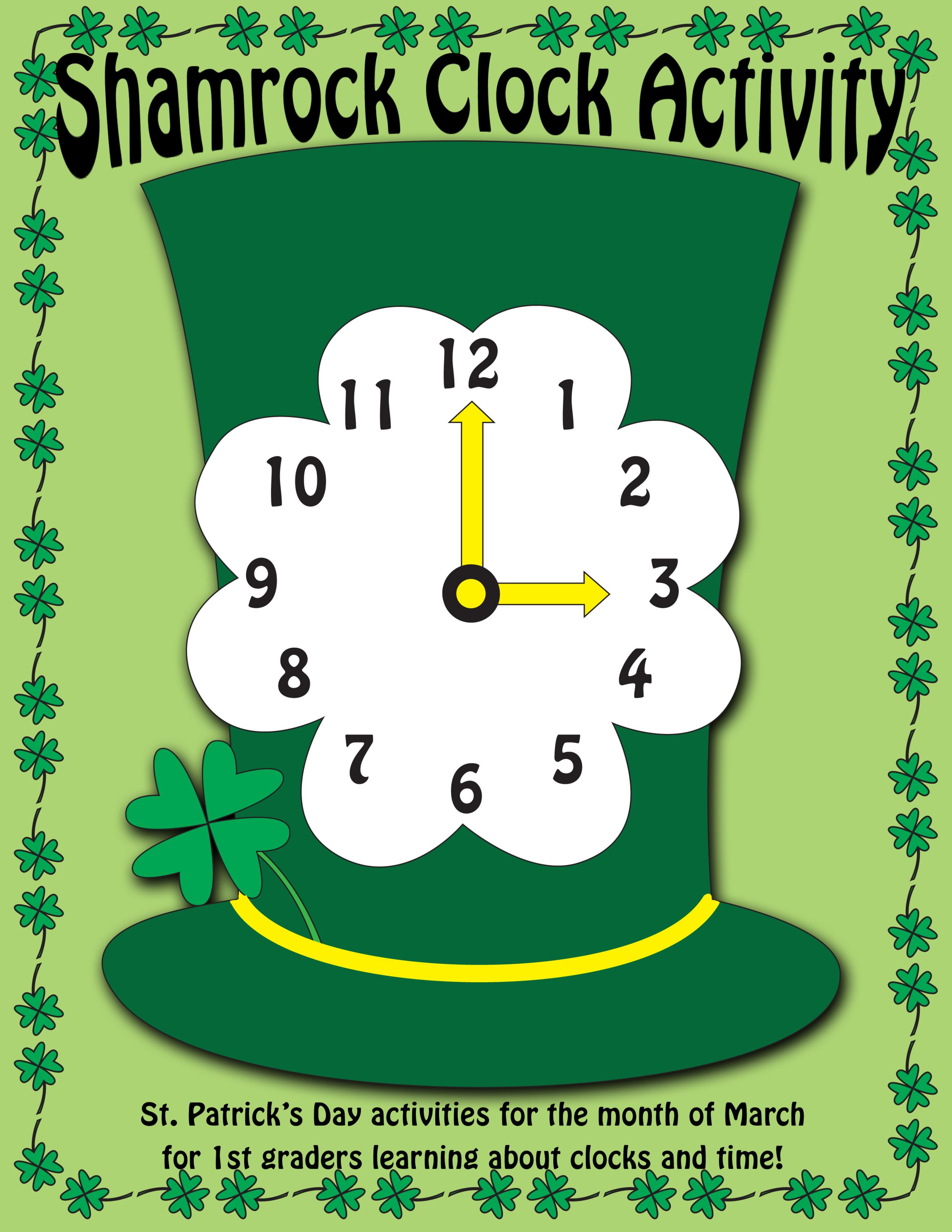 Shamrock Clock