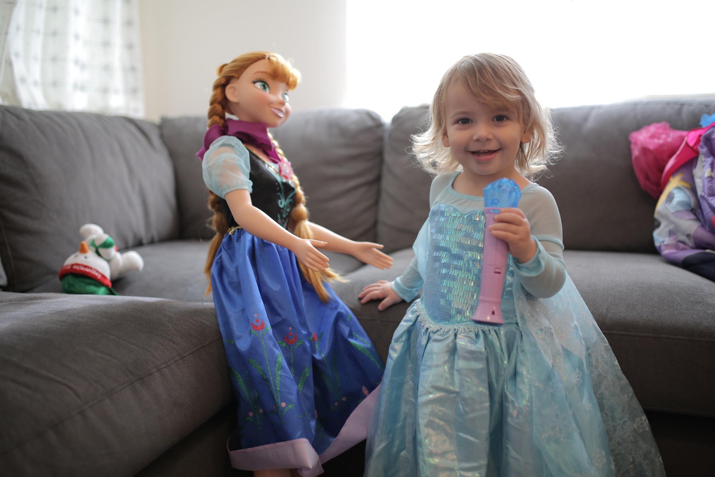 The princess.