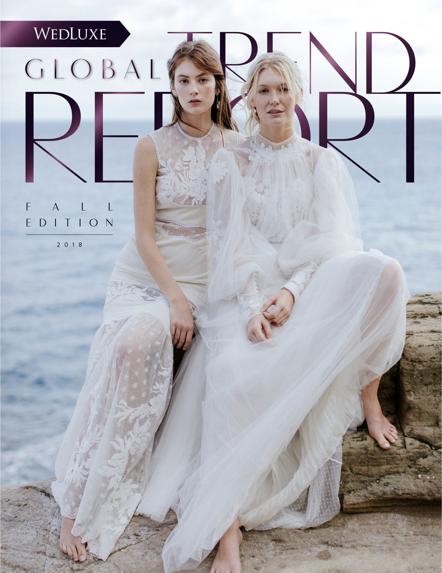 WEDLUXE Fall 2018 TREND REPORT | COVER & EDITORIAL