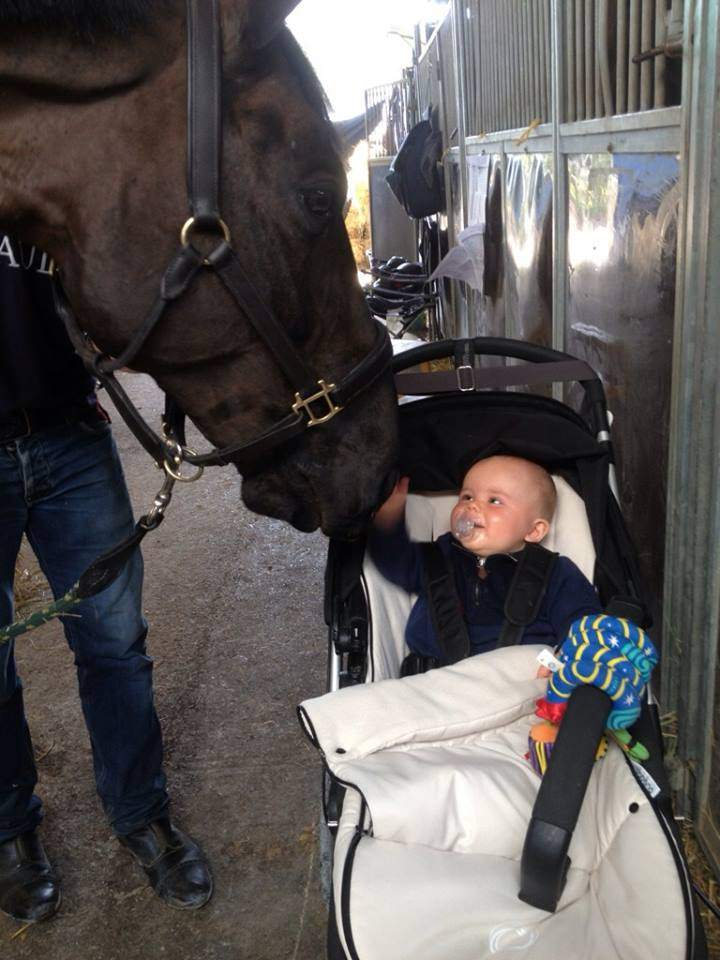 Arantos getting his pep talk from Connor before going out to win the Grand Prix