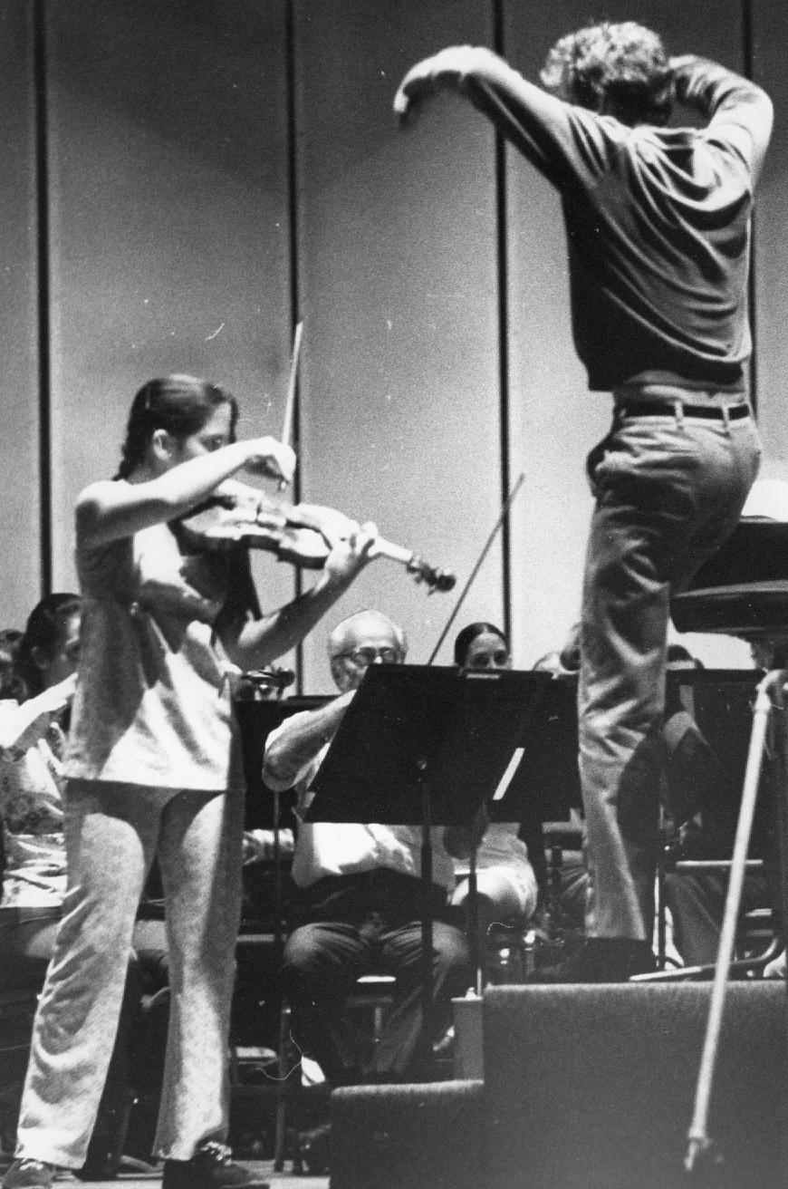 Age 10, Thomas Schippers, Cincinnati Symphony Age 12