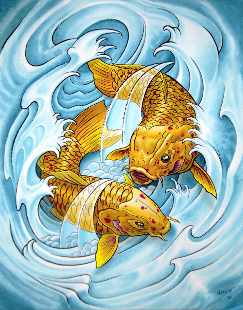 2 koifish