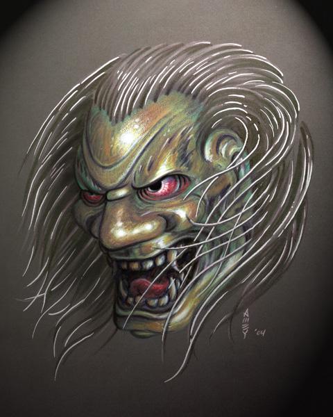Shishiguchi mask