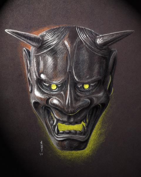 Hannya mask 2