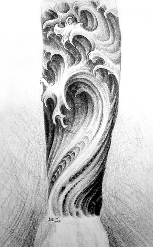 Water sleeve 2