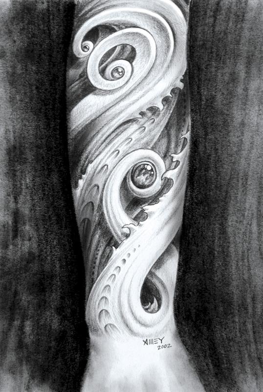 Bio-organic forearm