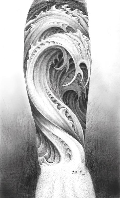 Water forearm