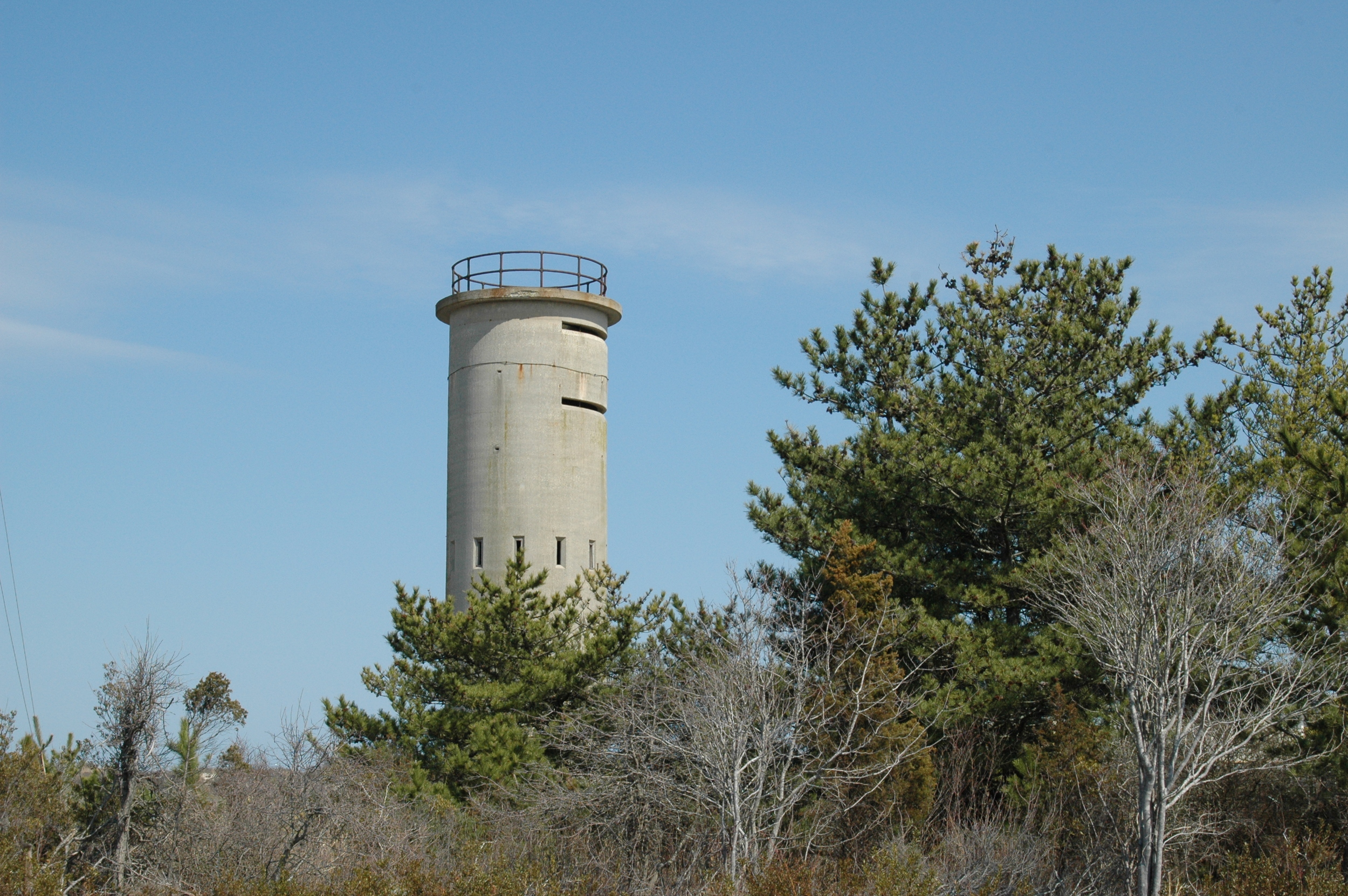 Fire control tower